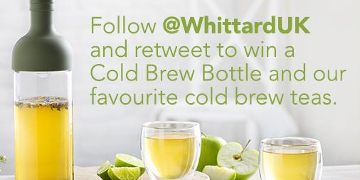 Follow @WhittardUK & retweet to #win a Cold Brew T Bottle and teas.  UK only Ends 17/8/15 10am http://t.co/YINsSEHDvP http://t.co/KzHKF9TFup