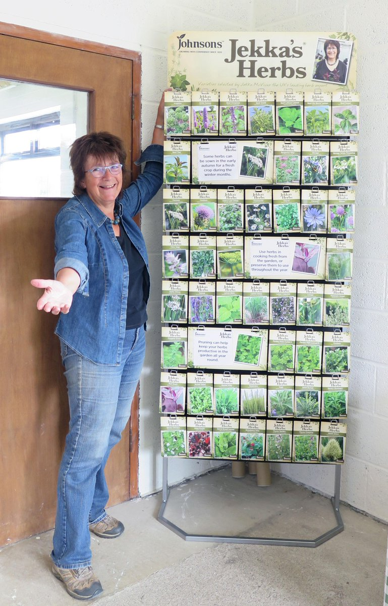 Very proud day for @JekkaMcVicar as we now have our own seed range with Johnsons Seeds @Mr_Fothergills http://t.co/H8YixThKTS
