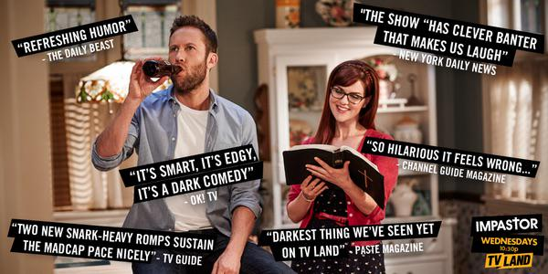 Tonight's is a really good one. #Impastor on @tvland 10:30/9:30C Watch and Live tweet with the whole cast! http://t.co/bozY8Qnb1J