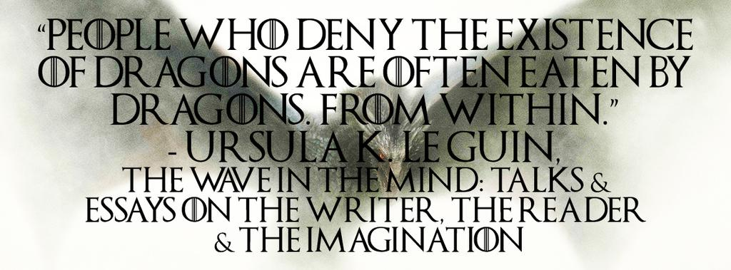― Ursula K. Le Guin, The Wave in the Mind | http://t.co/jlVxT77Imf #quote #fiction #books http://t.co/siQNQAyQi9