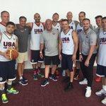 My @usabasketball fantasy camp team. We've got Jerry Haffey Jr., Jerry Haffey Sr., Jason Goldblatt, Michael Scotch... http://t.co/BcQoGQ2HvM