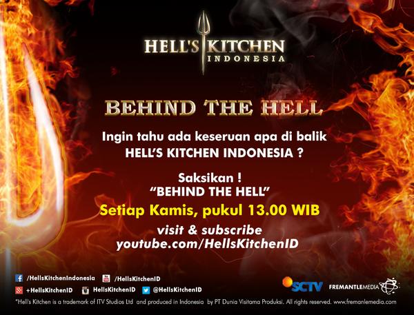 Siang ini jgn lupa liat video eksklusif Behind The Hell di channel YouTube #HellsKitchenID @SCTV_ yaaa.. http://t.co/NNxzpwnbO8