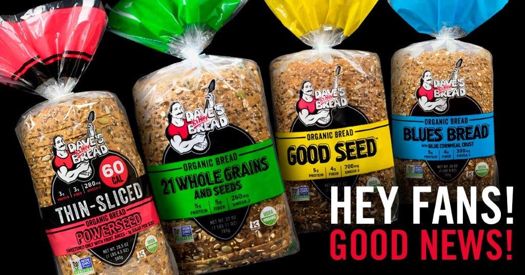 Big News: Dave's Killer Bread is growing! Learn about our plans to hit more shelves near you! http://t.co/4HkTIw0dDu http://t.co/7gVZvpZdlh