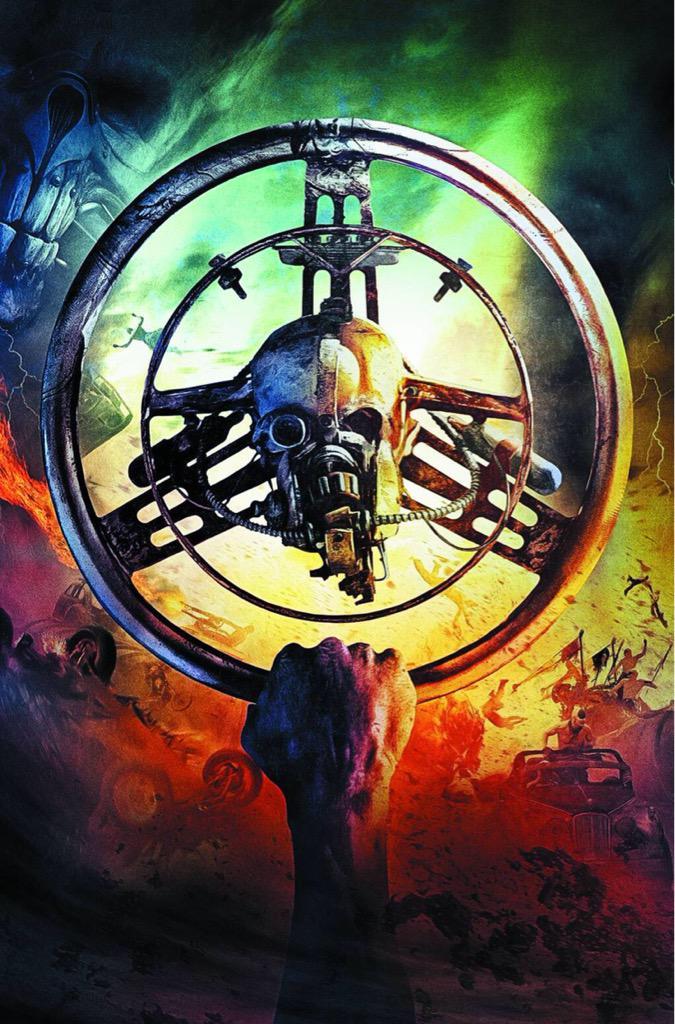編集会議の最中、漫画ゴラク編集部は『マッドマックス 怒りのデス・ロード』を劇場で必ず観ることが必須ということに決まりました。 http://t.co/PZaLaB90vy