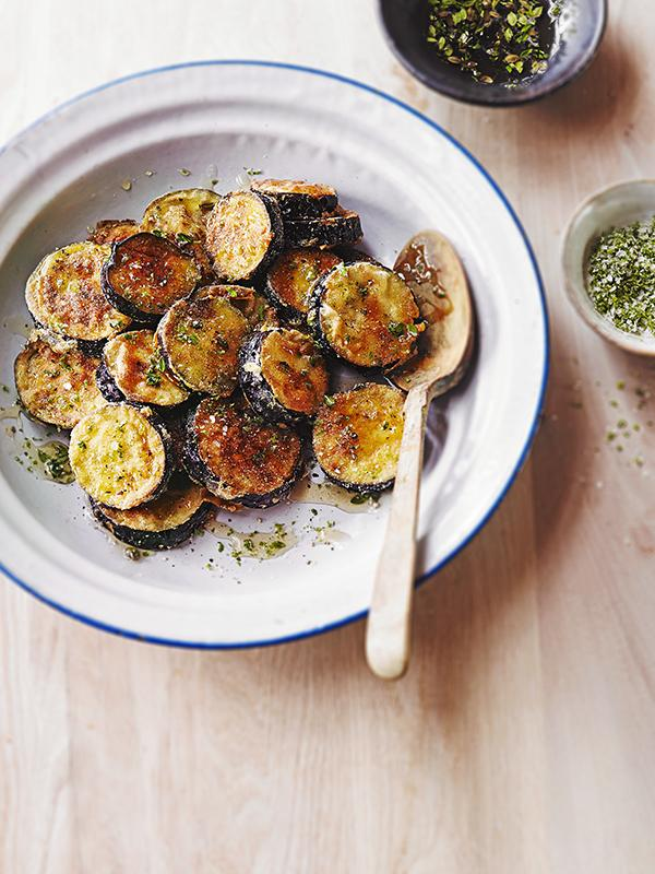 Sweet and crisp - honey and thyme aubergine :-) Click here for the recipe: http://t.co/OXtgZgfoqg #aubergine http://t.co/N98u41uesl