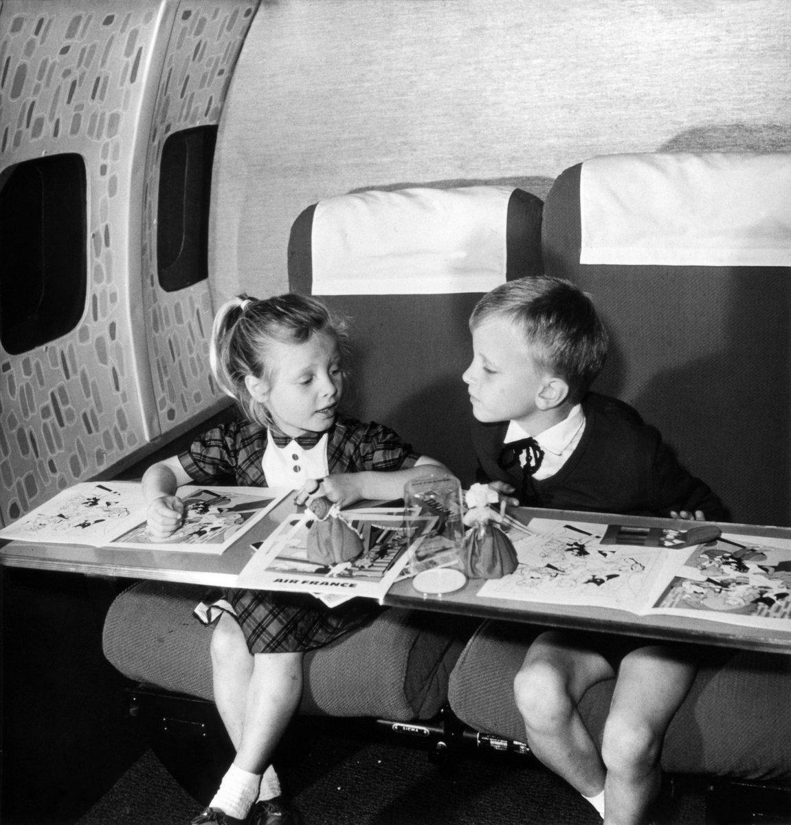 Il était une fois, Air France et les enfants :)
