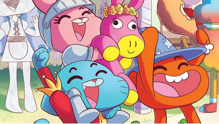 Farina to illustrate the graphic novel of @cartoonnetwork's The Amazing World of Gumball: http://t.co/Z9P6bRFDyb http://t.co/8tqsx1Gmm1