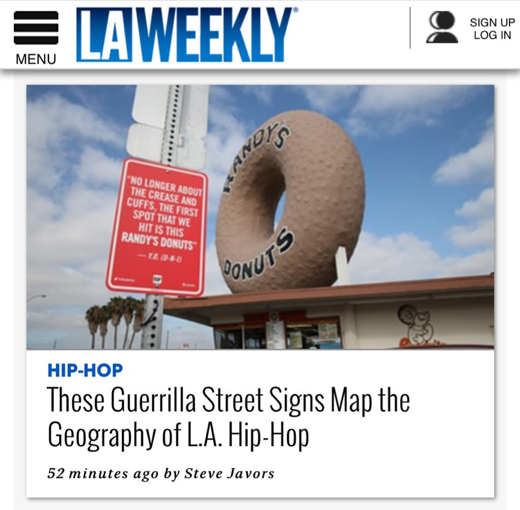 My article on #TheRapQuotes hit @LAWeekly today. Get down with it & give it a read. http://t.co/iIWll43tKn http://t.co/co6OTCgJit