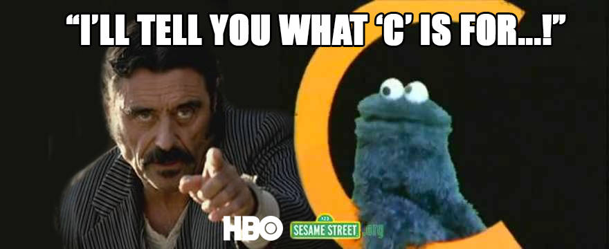 This @HBO @sesamestreet partnership has some interesting team-up possibilities... #Deadwood http://t.co/ZMlkJYRajw