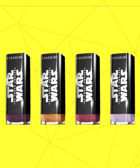"""OMG: @starwars x @COVERGIRL makeup collection WITH a """"There Has Been An Awakening"""" mascara!!! http://t.co/ubs0C6aC7l http://t.co/cO6nSTrGP6"""
