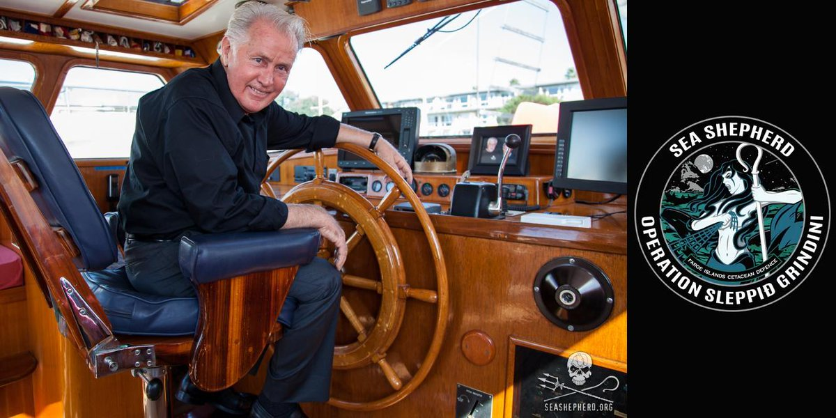 RT @QuadSeaShepherd: Sea Shepherd News: Martin Sheen Asks Denmark to End Support of Pilot Whale Slaughter http://t.co/ls1weL3yvs http://t.c…