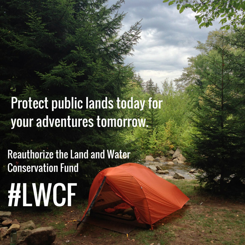 With @REI @KEEN @OIA @conservationall we urge YOU to tweet your congress rep to re-authorize the #LWCF #Outdoors4LWCF http://t.co/Fe5glM64KY