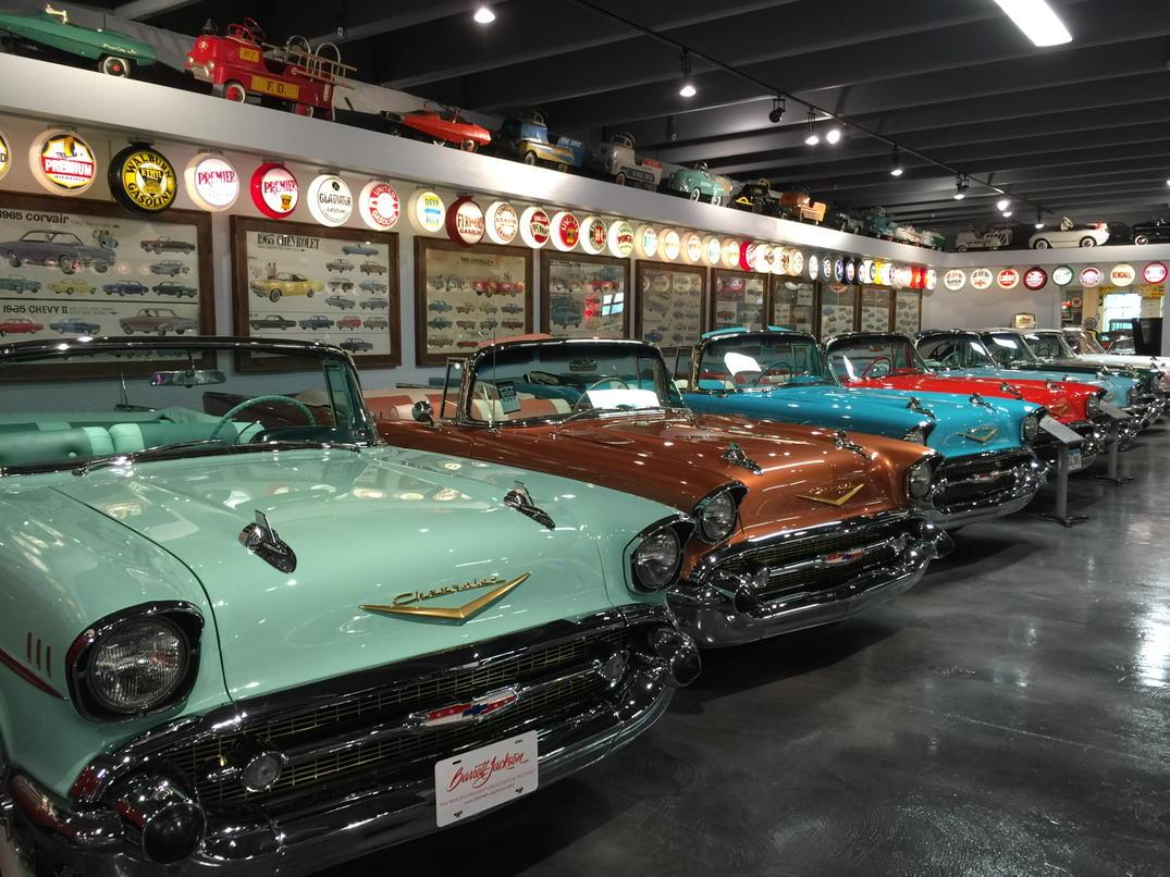 Huge Vine Chevy Collection Every Year Ragtop Corvettes 409s Denny Albauch