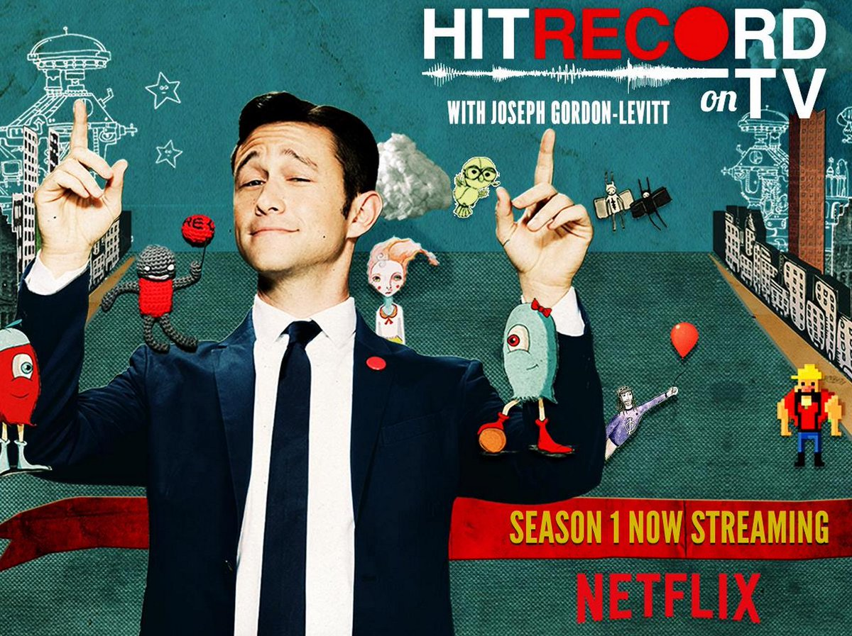 RT @hitRECord: If you're cruising @netflix, you can stream #HITRECORDonTV right this very instant --> https://t.co/asioU9fGwq http://t.co/Y…