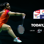 RT @StarSportsIndia: Don't miss the action, as #SuperIndians @NSaina & @Pvsindhu1 play in the #BWFWorldChampionships quarter-finals today! …