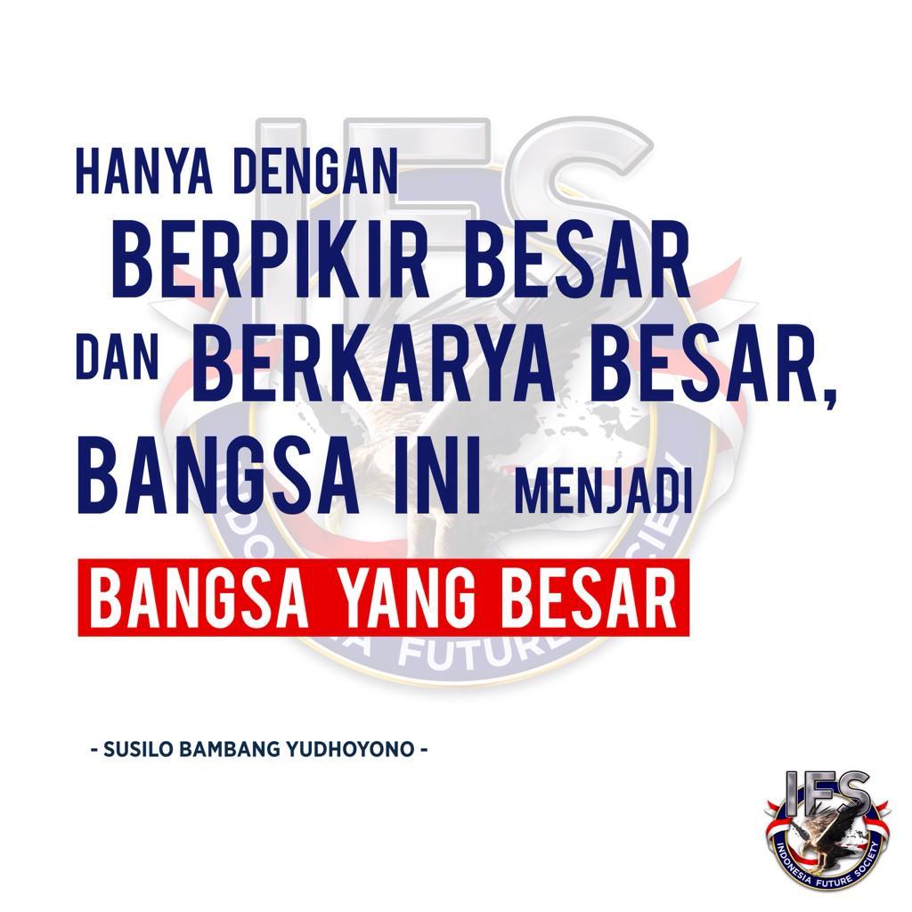 Hanya dengan berpikir besar dan berkarya besar, bangsa ini menjadi bangsa yang besar. http://t.co/lg4FSut0NX