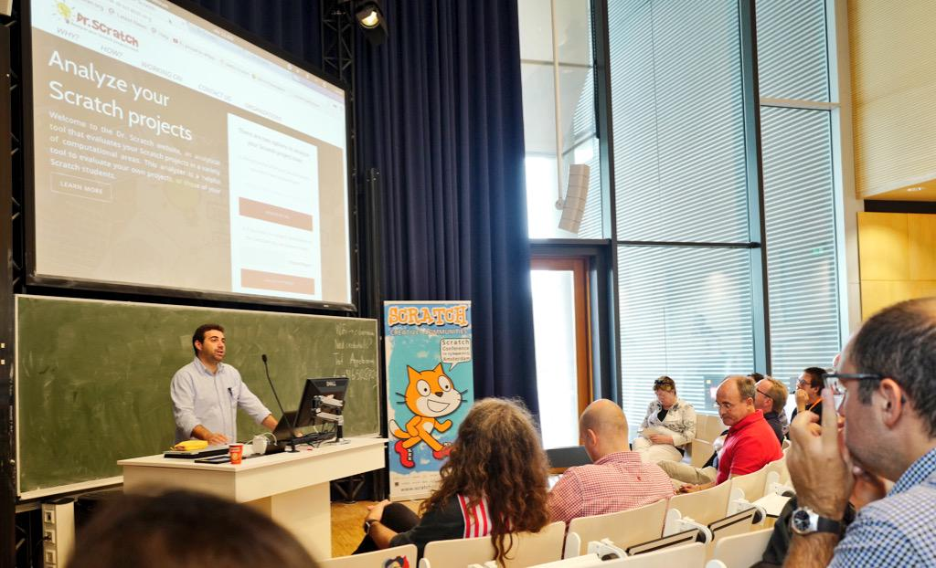 Automated diagnostics of CT in Scratch scripts with @DrScratchTool #scratch2015ams @j_morenol http://t.co/NKoQ5008gV