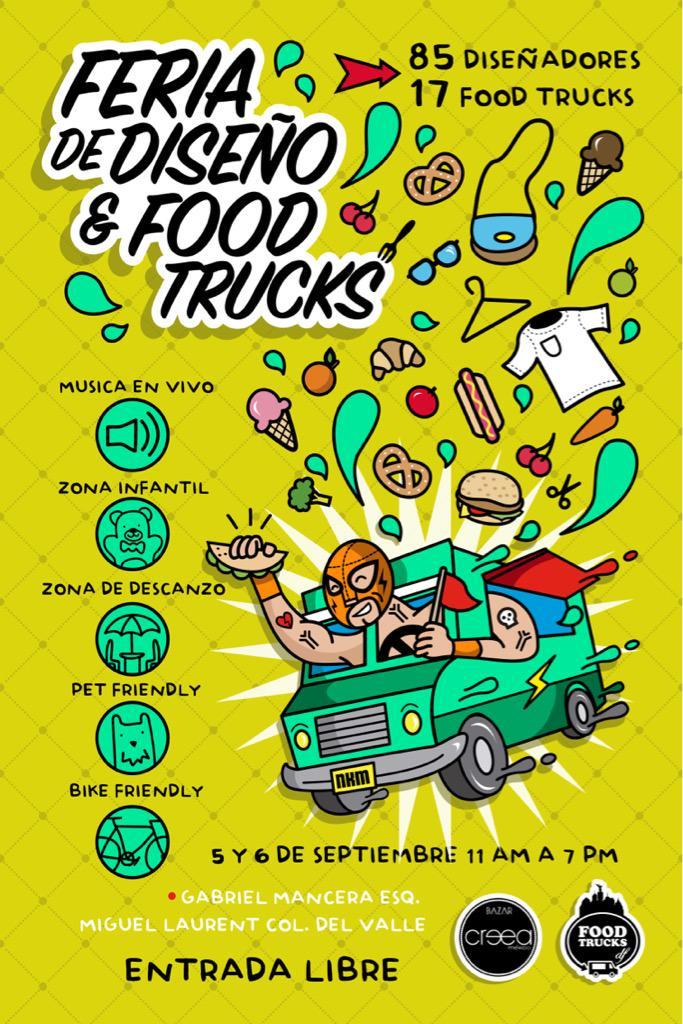 HOY: @FoodtrucksDF: '#FelizDiadelZurdo y del #Derecho de los #foodTrucks #Viern… http://t.co/wSSKVXGQno, see more http://t.co/GbdzIwpy5H