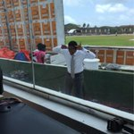 Good man @RusselArnold69 trying to keep himself entertained... #SLvIND http://t.co/1MoJSHOxri