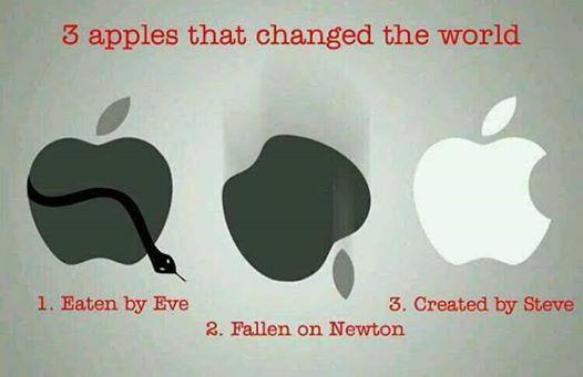 世界を変えた三つのリンゴとは? http://t.co/4D9WDPULZI