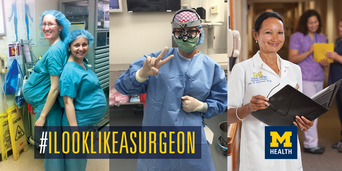 We need strong, diverse women in medicine. They are shaping the face of healthcare every day. #ilooklikeasurgeon http://t.co/pwJVrATBvD
