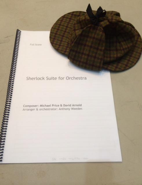 We've been snooping around at rehearsals for this Sunday's Sherlock-themed @bbcproms matinee
