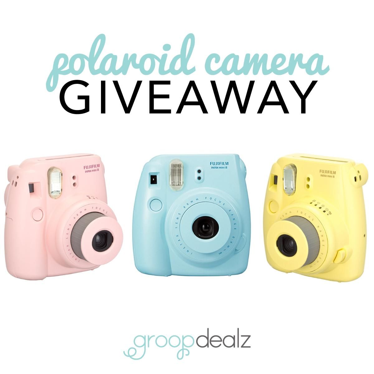 Have you entered our Polaroid camera and Groopdealz Credit giveaway yet?? Hurry, ends today!  http://t.co/5qmnktomV8 http://t.co/RvwBkJFxdy