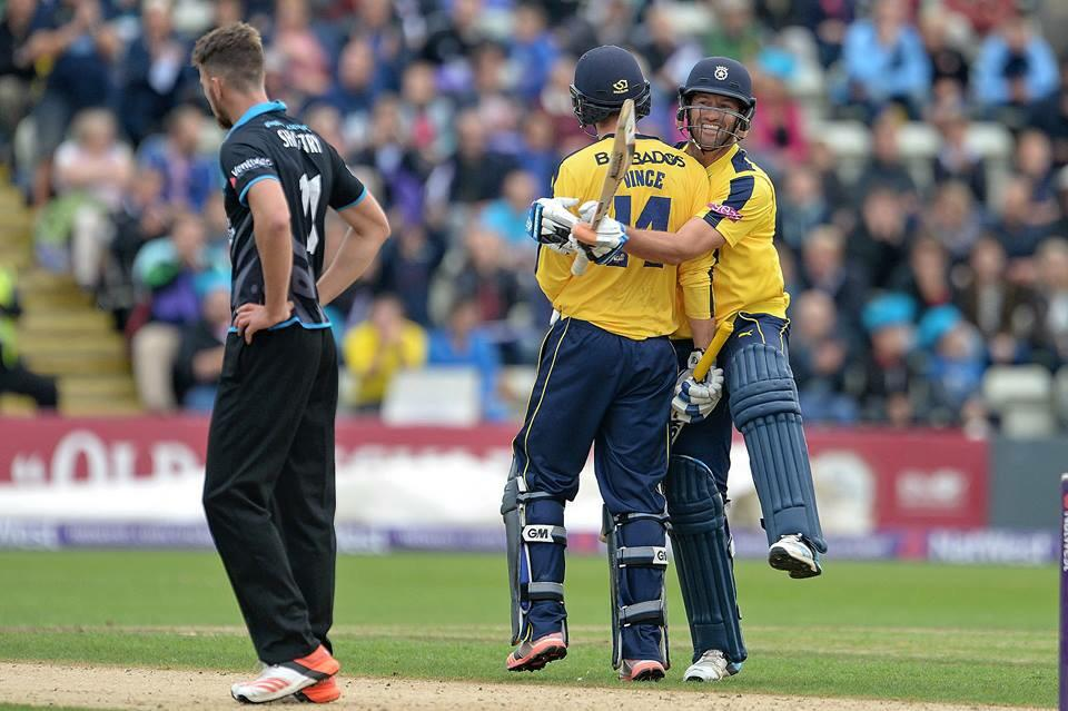Great win from the lads and a brilliant 107* from @vincey14 another finals day achieved. Bring it on #T20Blast http://t.co/C86wmhtbSI