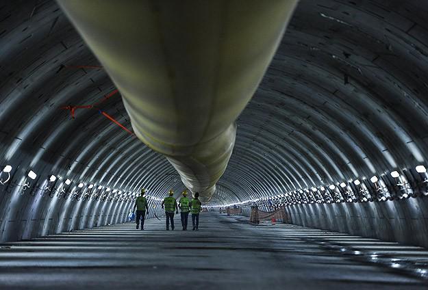 Avrasya Tüneli'nde kazı çalışmaları bugün sona eriyor http://t.co/BFLEANMtOv http://t.co/r6B1uaqQ72