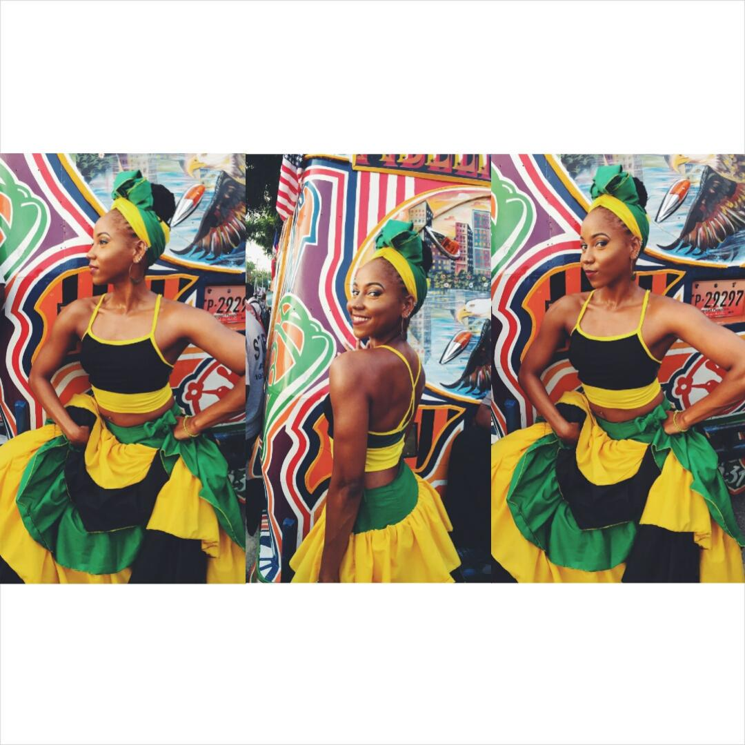 Ms. Jamaica if ya please! The street parade was lit! #Haiti #CarifestaXII http://t.co/YHKZcLYoTY