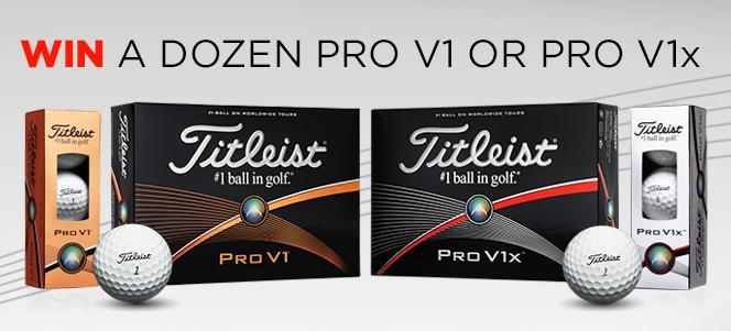 Stay tuned to WIN 1 dozen Titleist Pro V1 or Pro V1x #PGAChamps - 4 winners randomly selected today - UK&I only http://t.co/4ZeYfRMIdu