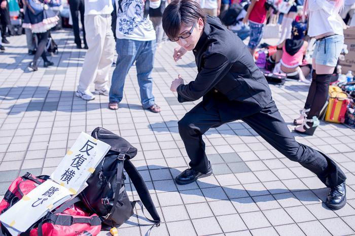 コミケ88 「坂本ですが?」の再現率が高くてかなり感動してる!すばらしい反復横跳びでした!NaGiさん() #c88 #