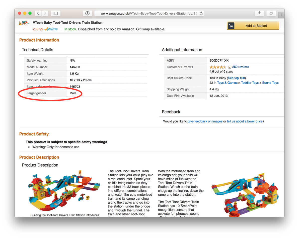 """Target gender: male"" - come on @AmazonUK, you're better than this. http://t.co/LtPUW1KTUD"