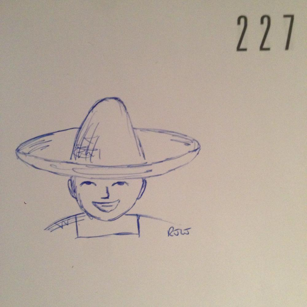 Sombrero #todaysdoodle #adoodleaday 227 http://t.co/Y56gjBwB3B