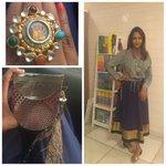 RT @shweta_malpani: @LakshmiManchu for an evening of events.Outfit @sabya_mukherjee ring @amrapalijewels. Sling #jimmychoo