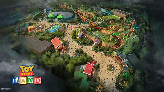 Breaking: #ToyStoryLand just announced for Disney's Hollywood Studios. More: http://t.co/D4VtFXEBU6 #D23Expo http://t.co/gCC8duz3FJ