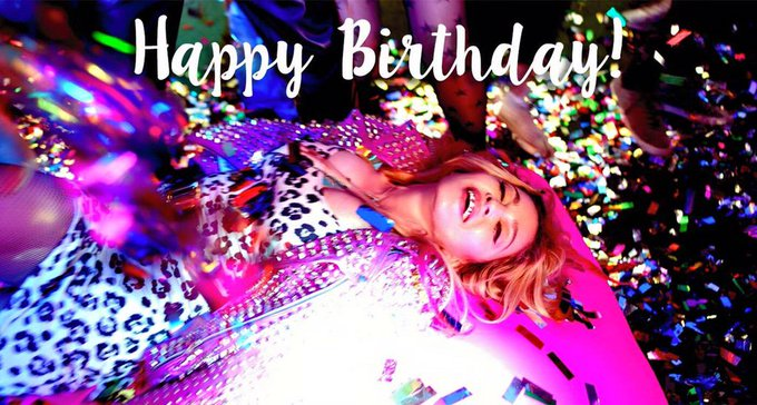 Happy Bday MyQueen see You In November/December  So Exited to see you Again On Stage