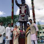 RT @Riteishd: This Independence Day was special as Latur Zilla Parishad -unveiled the statue of my father Shri Vilasrao Deshmukh. http://t.…