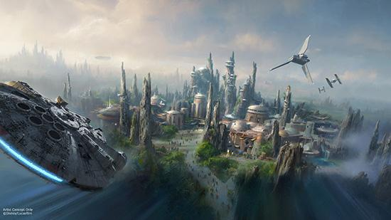 #StarWars themed lands announced for Disneyland park & Disney's Hollywood Studios. http://t.co/gHgGS2bhOo #D23Expo http://t.co/2GM5DyJmdg