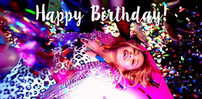Happy birthday Still as fabulous as ever!