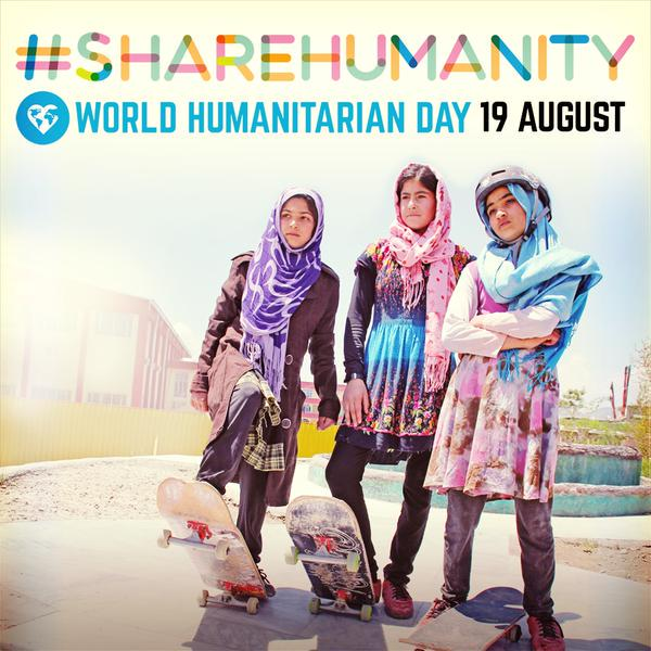 Share refugee stories! See how you can #ShareHumanity on World Humanitarian Day https://t.co/RDtxe8kudR #WHD2015 http://t.co/BsdGNGQssB