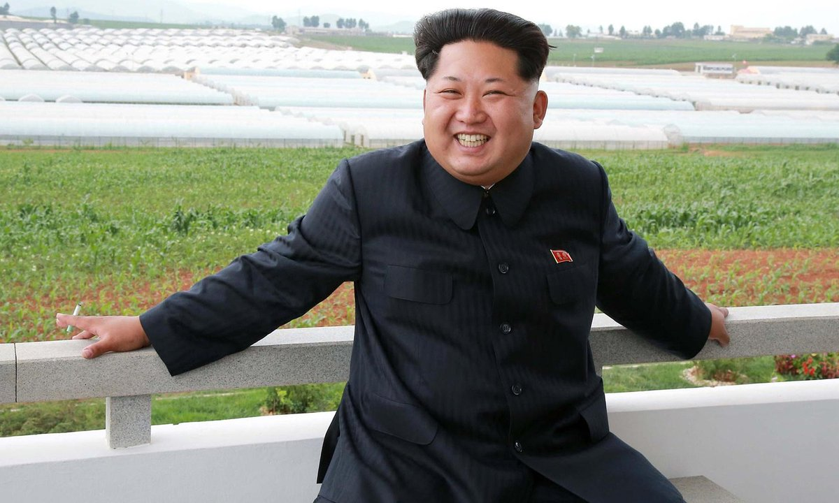 Supreme Leader Kim Jong-Un named Best Dressed Man in Democratic People's Republic of Korea for third consecutive year http://t.co/bL13fEnZCk