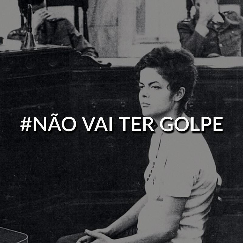 Golpistas,  Dia 16 Eu Não Vou!!!  Já fui em outubro.  Respeitem o meu voto!!!  #NãoVaiTerGolpe  #DilmaFica http://t.co/qriNMBclAV