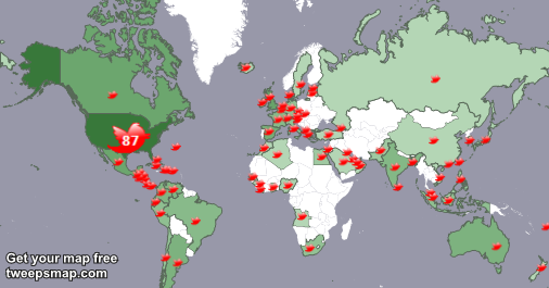 I have 61 new followers from USA, UK., Singapore, and more last week. See http://t.co/dGlikoQqW4 http://t.co/Op3E0Ht986