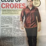 Woke up to this..what a blessed day..Too good morning friends #SrimanthuduSuperStorm
