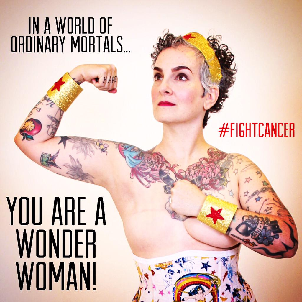Be your own superhero! #fightcancer #fuckcancer #mastectomy #cancer #breastcancer http://t.co/OoDDCsyvM5