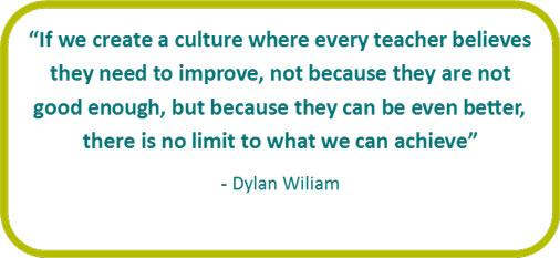 """There is no limit to what we can achieve."" Dylan William http://t.co/mQousZDGwM"