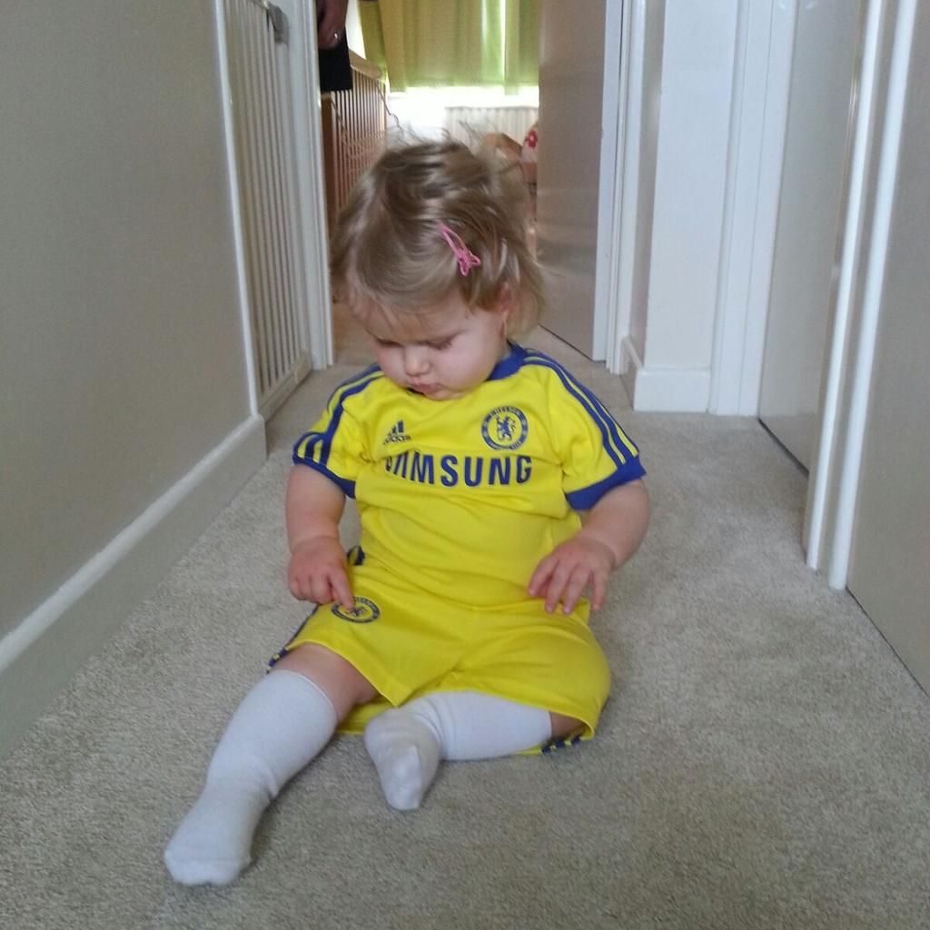 Ella is match ready #CFC #chelsea #CFCFamily http://t.co/xfFH93gKVi