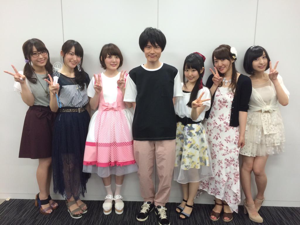 【悲報】ニセコイ声優陣集合 花澤香菜さんの私服センスやばすぎないかこれ