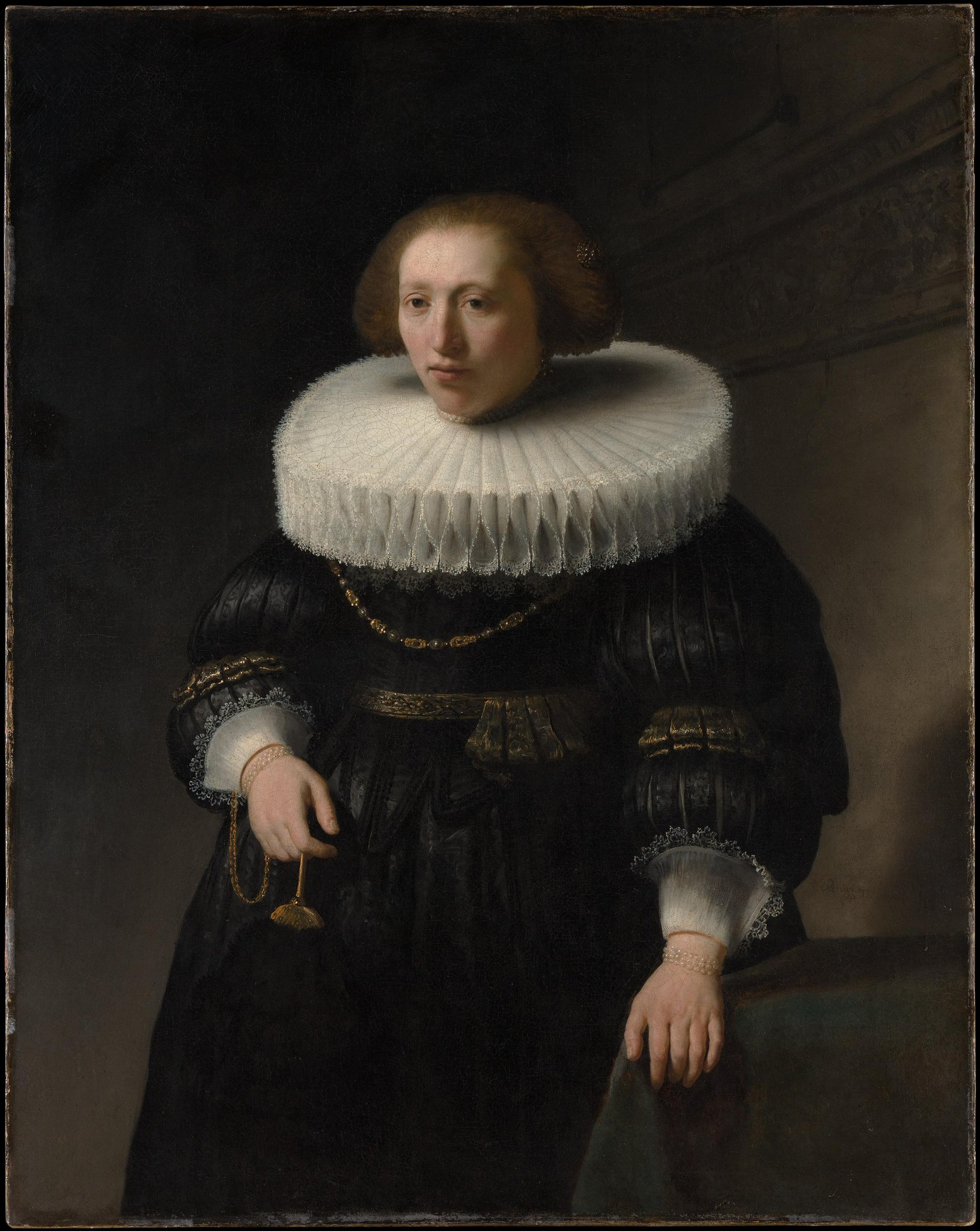 Portrait of a Woman, by Rembrandt 1632   Oil on Canvas   (@metmuseum) #RuffTally http://t.co/zsMp2ttd0T